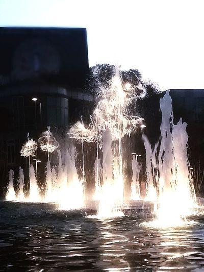 Danza del agua Danza Del Agua Night Magic Water Dance Water No People