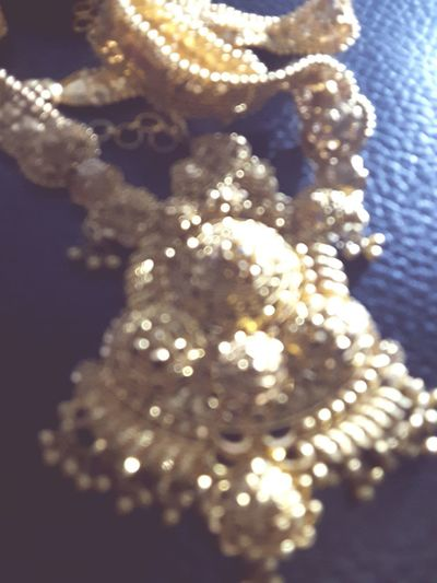 Close-up No People Day Black Background Gold Golden Jwellery Fade
