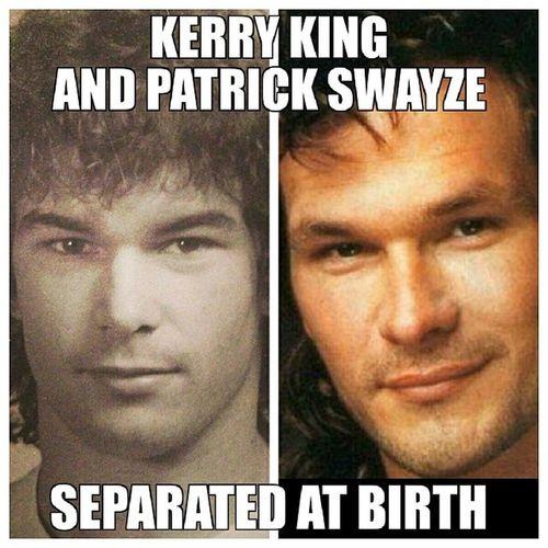 Oh. My. God. KerryKing PatrickSwayze