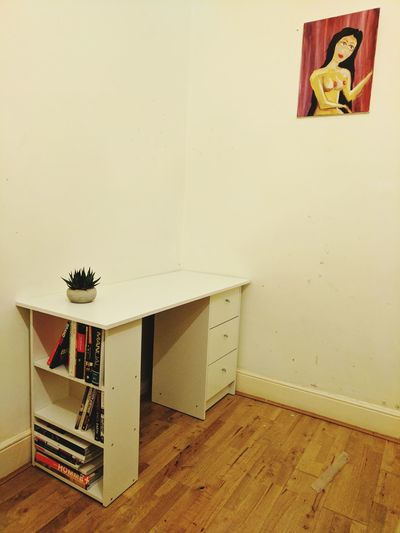 A blank canvas Indoors  No People Day Interior Design Interior Style Desk Love