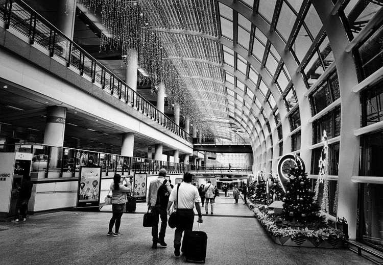 Airport Group Of People Architecture Built Structure Crowd Large Group Of People Real People Women City Day Travel City Life