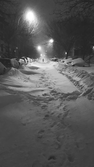 Check This Out Taking Photos Blizzard 2016 Brooklyn Ny Beautiful View Black And White