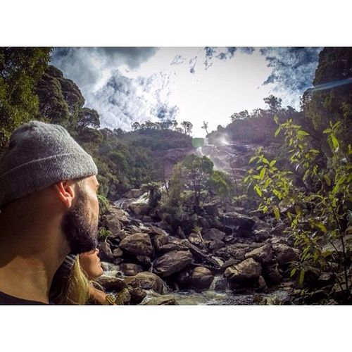 Tijdmachine tijdmachine waar ben je? Ik wil terug!! Thisweekwasperfect Tasmania Australia Waterfalls Konnietbeterneles Nature Sun Thankful Life @mitchelderoock