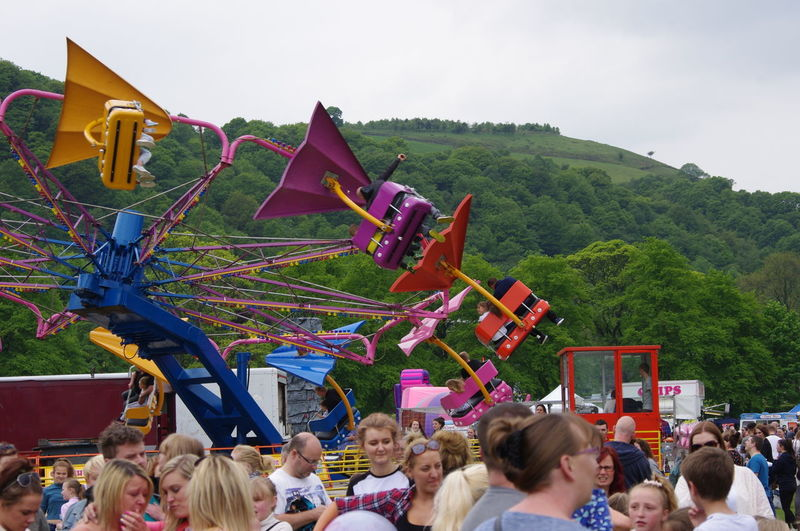 Need For Speed Fun Fair Ride Attractions Crowd Happy Faces Faces In A Crowd Pentax Todmorden England Park Trees Colour Of Life