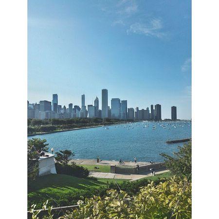 beautiful Chicago. Chicago Instachicago Skyline Instagram City Sun Summer