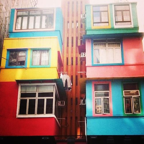 Colorful Hkbuilding