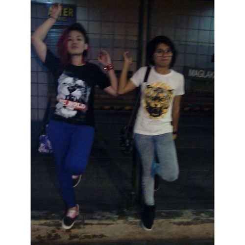 Jaywalling with pugo @jcee_rocks bleeeh