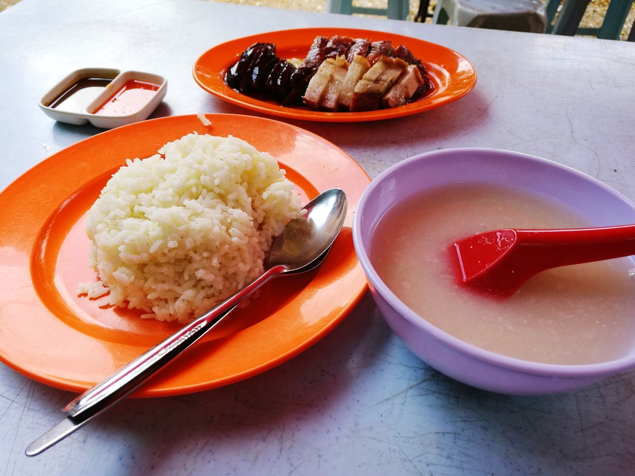 food and drink, food, table, bowl, serving size, plate, freshness, ready-to-eat, healthy eating, no people, indoors, meal, rice, chopsticks, close-up, day