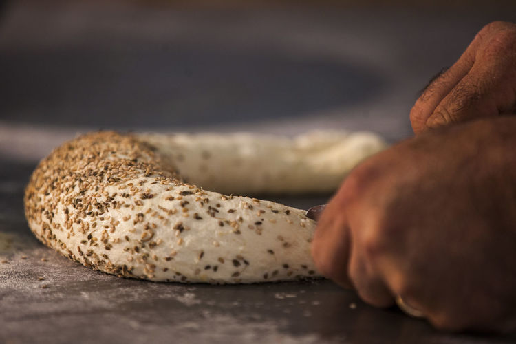 Oven Sandwich Seeds Bakery Bread Bread With Seeds Close-up Handmade Indoors  Kiln Selective Focus Sunrise