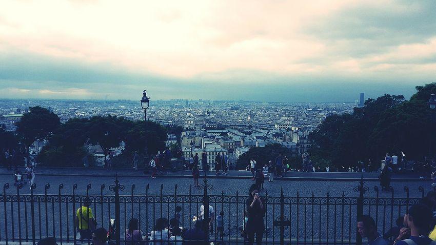 City Paris ❤ Montmartre Cloud - Sky Cityscape City Of Love♡