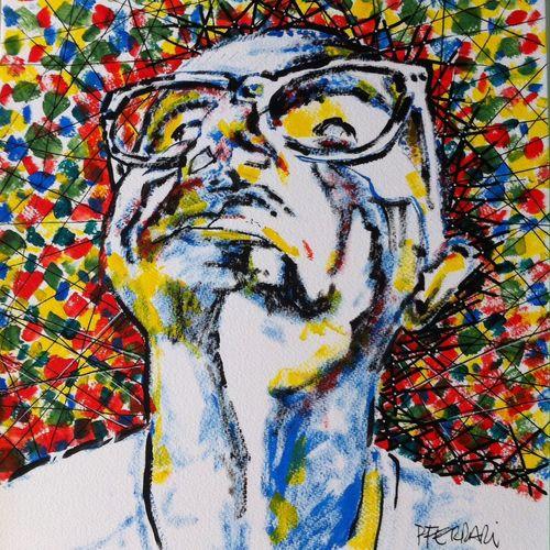My Art Acrylic Painting Color Portrait Art, Drawing, Creativity