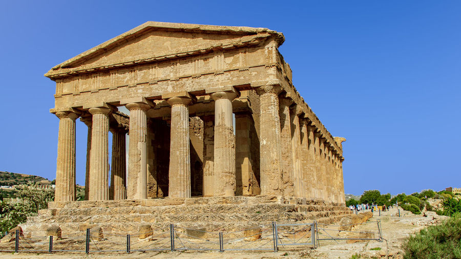 Agrigento Sicily Clear Sky Cliff Holiday Italy Scala Dei Turchi Sicily Temple Valley Valley Of The Temples
