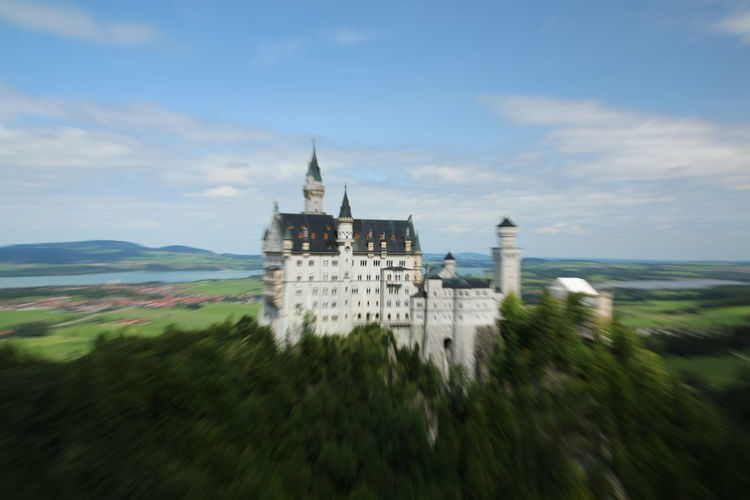 Neuschwanstein castle in germany . Beautiful Castle EyeEm Best Shots EyeEm Gallery EyeEmBestPics EyeEmNewHere Fairytale  Neuschwanstein Sightseeing View Architecture Beauty In Nature Built Structure Close-up Famous Place Germany History Nature No People Outdoors Sky Summer Travel Destinations