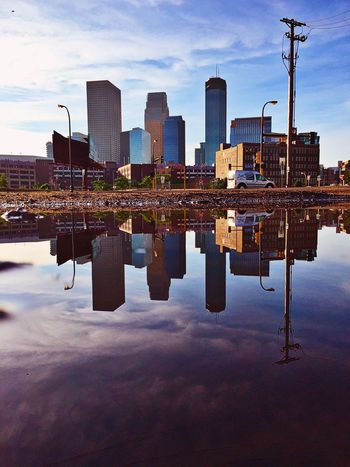 Puddle Puddleography Puddle Reflections Puddles Puddlegram Puddleporn PuddleWonderful Reflection Reflections In The Water Minneapolis Minnesota IPhoneography Iphoneonly IPhone IPhone Photography Iphone6
