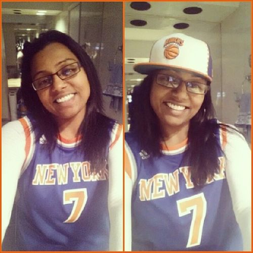 Reppin' Orange and Blue til I die!!! LetsgoNY NYStandUp NYKnicksFan 25yearsstrong knicksfan4life weaintnewtothis wetruetothis ilovenewyork newseason authenticjersey fitted weinthere