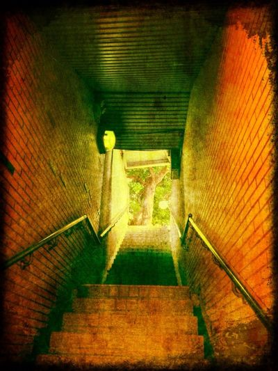 i have recently noticed feeling anxious when underground.... Urban Nature