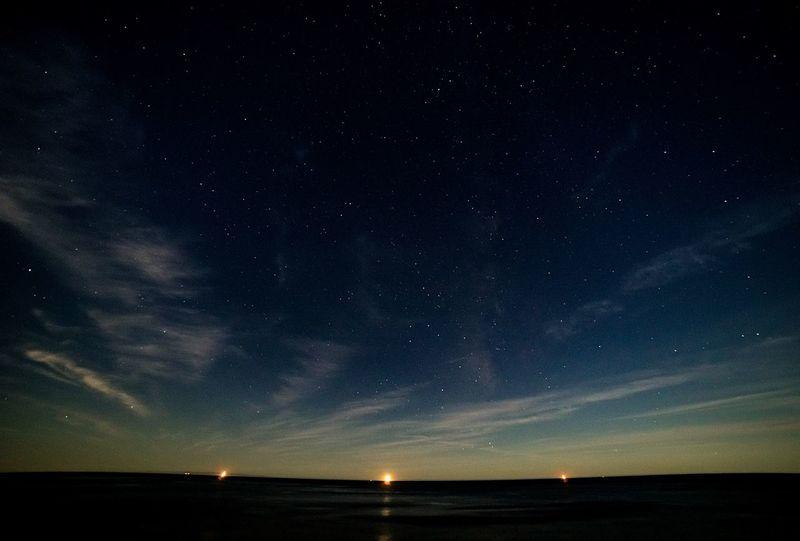 Goodnight friends! California Love 805 Night Lights Stars Ocean EyeEm Best Shots Learn & Shoot: After Dark Under The Milky Way 43 Golden Moments California Dreamin