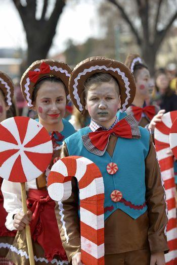 International carnival Prochka 2018,Prilep, Macedonia 2018 Carnival Carnival Crowds and Details February International Macedonia Masque Skopje Balkans Costumes Festival Nalkans Ohrid Paganism People Prilep Prochka