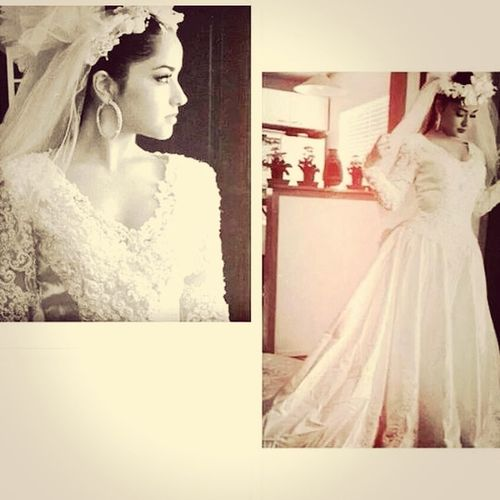 A wedding dress like this??