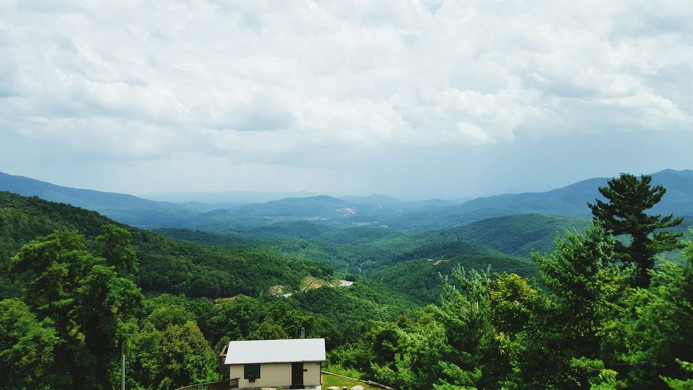 Hanging Out Taking Photos Check This Out Hello World Relaxing Enjoying Life Sweet Simplicity Simplicity Fancy World Mountains Nature On Top Of The World Green Trees Colors Life Mountain View Mountain Countryscape North Carolina Countryside Natural Mountain Range Landscapes With WhiteWall