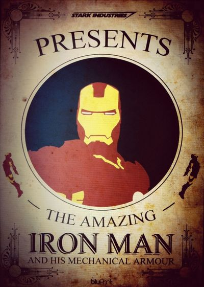 Iron Man Print, available to buy at BluPrint