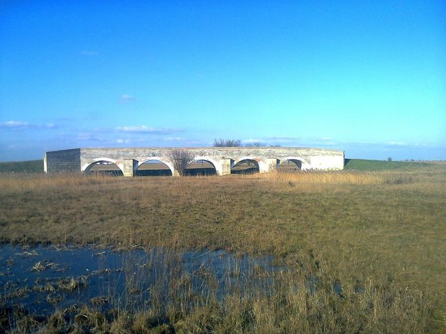 Zádor bridge Agriculture Architecture Beauty In Nature Blue Built Structure Clear Sky Day Field Landscape Nature No People Outdoors Rural Scene Scenics Sky Tranquil Scene Tranquility Water
