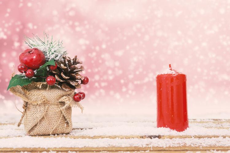 Christmas straw
