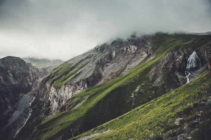 Mountains Caucasus Russia Nature Nature_collection Landscape Landscape_Collection Waterfall Waterfalls Waterfall_collection