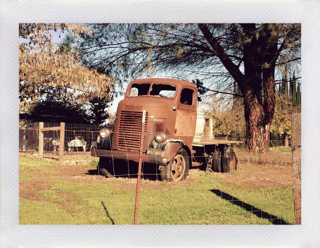 Waiting for the old days to come back. Mobilephotography Xperiagraphy No People Outdoors Abandoned Pixlr Lumiocam Country Life On The Road Rusted Rustedworld Rustlovers Polaroid Pocketcamera