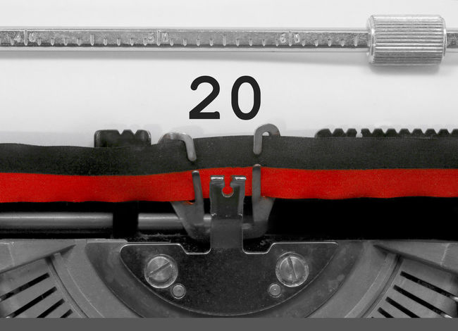 20 Number by the old typewriter 20 2o BIG NR Numbers Only Retro Text Type Writer Word Writing Backgrounds Nostalgia Number Numbers Numeral Numerals Numeric Page Single Twenty Typewriter Typewriting Typing Vintage Written
