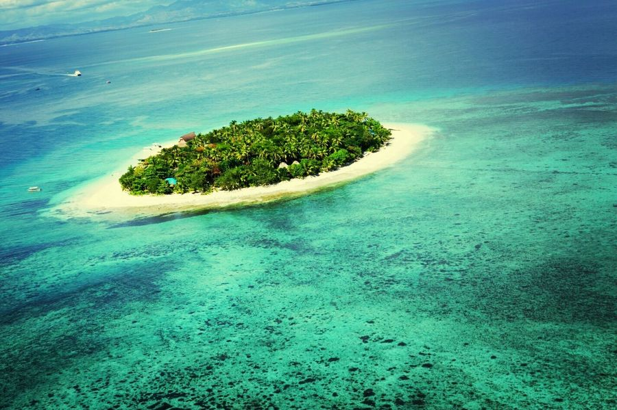 Fiji Photos EyeEm Nature Lover EyeEm Best Shots Water_collection Island Traveling Airplaneview From An Airplane Window Aerial Shot