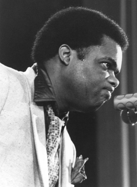 Freddie Hubbard (1938-2008) Ciak Milano, 1979/11/05 Trumpet Player Jazz Festival Bebop Hardbop Ciak Music Festival One Person Jazz Concert 35mm Film Music Music Festival One Man Only Portrait Black Background Front View Freddie Hubbard Black And White Photography Milan,Italy Black And White Friday