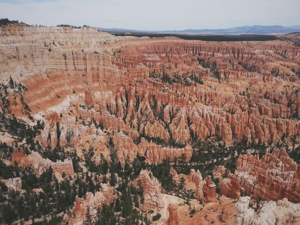 A different sort of amphitheater, the kind where you can enjoy the silence. Bryce Point. Bryce Canyon National Park, Utah. RoadTripxUSA Bryce Canyon Utah