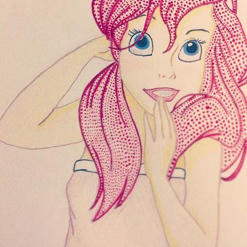 Yeah I can paint pop art. Disney Art Disneyprincess Ariel Thelittlemermaid Yes Cute Awe Fun Yay Disneyislife Disneyismylife Little Mermaid Justdisneythings 2disney4you