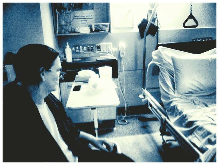 Selfportrait Hospital Monochrome_Monday
