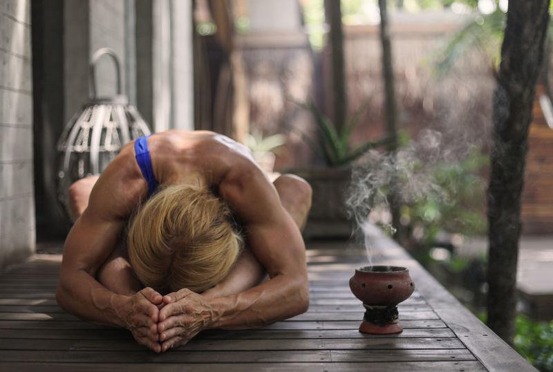 Calm Life Meditation Relaxing SP Swimsuit Yoga Yoga Pose Yogagirl