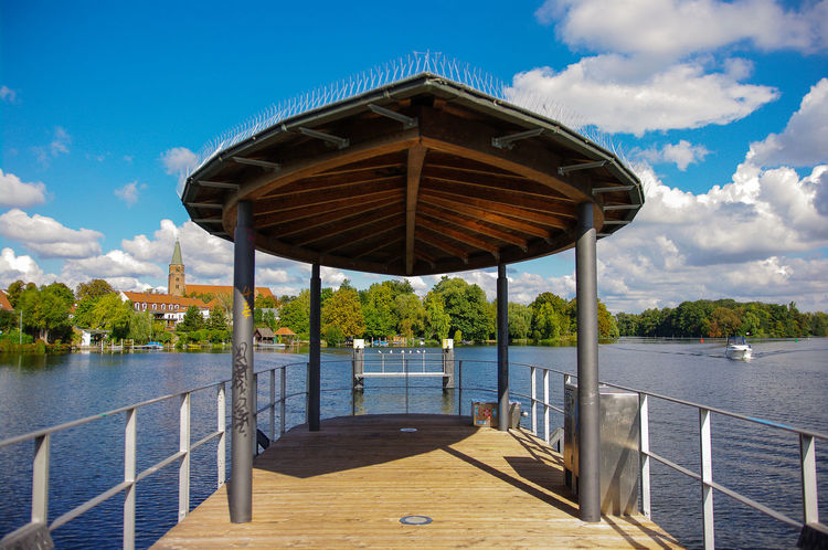 Hometown Beautiful Brandenburg Brandenburg An Der Havel Buildings City Cityscapes Cloud - Sky Clouds Clouds And Sky Hometown House Houses Landing Stage Living Outdoors Pentax River Roof Sky Sky And Clouds Town TOWNSCAPE View Water Waterfront