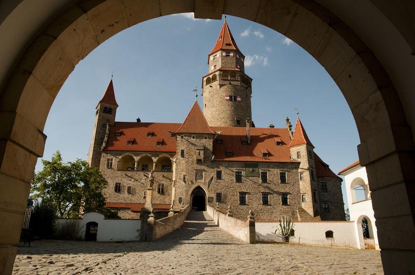 Bouzov Castle - Czech Republic Bouzov Bouzov Castle Czech Republic Architecture Building Exterior Built Structure Czechia