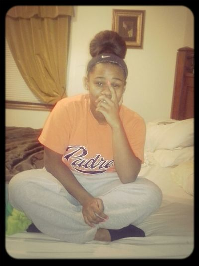 Sweat Pants . Hair Tied . Chiling W  No Make Up On . Old To Me New To You