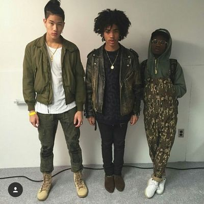 Spencer Lee x Luka Sabbat x Ian Connor Urban Fashion Street Fashion Urbanstyle Fashion Model Aesthetics Fashionformen