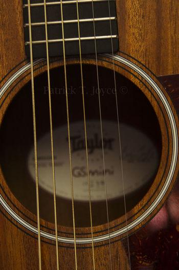 Acoustic Guitar Closeup Detail Geometric Shape Gs Mini Guitar Guitar Strings Sound Hole Strings Taylor