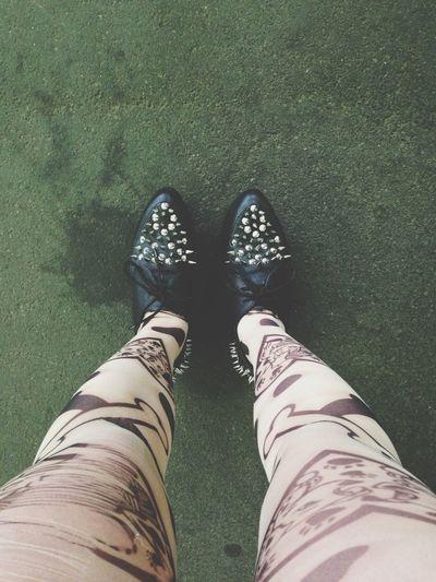 new shoes.花小金井でめっちゃ見られるよー笑