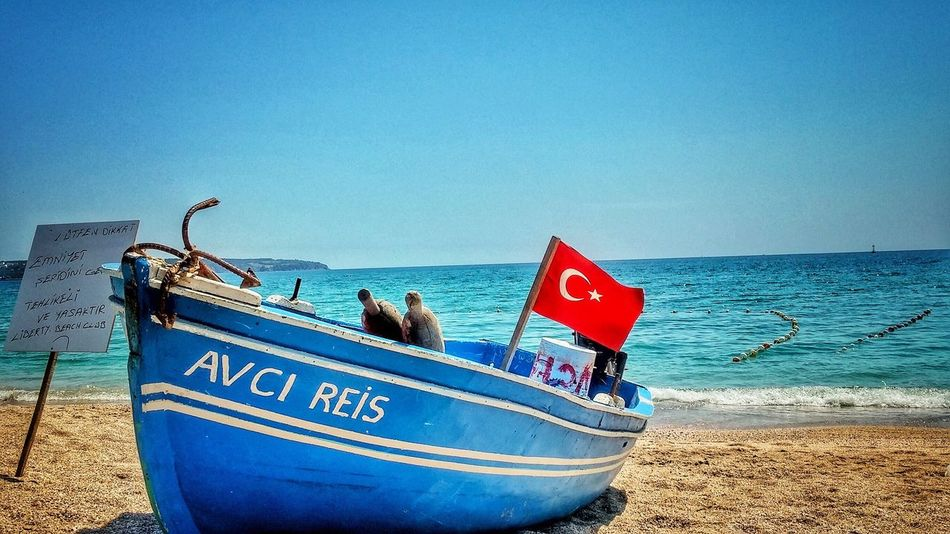 Black See Sea Beach Boat Türkiye Outdoors Beach Life