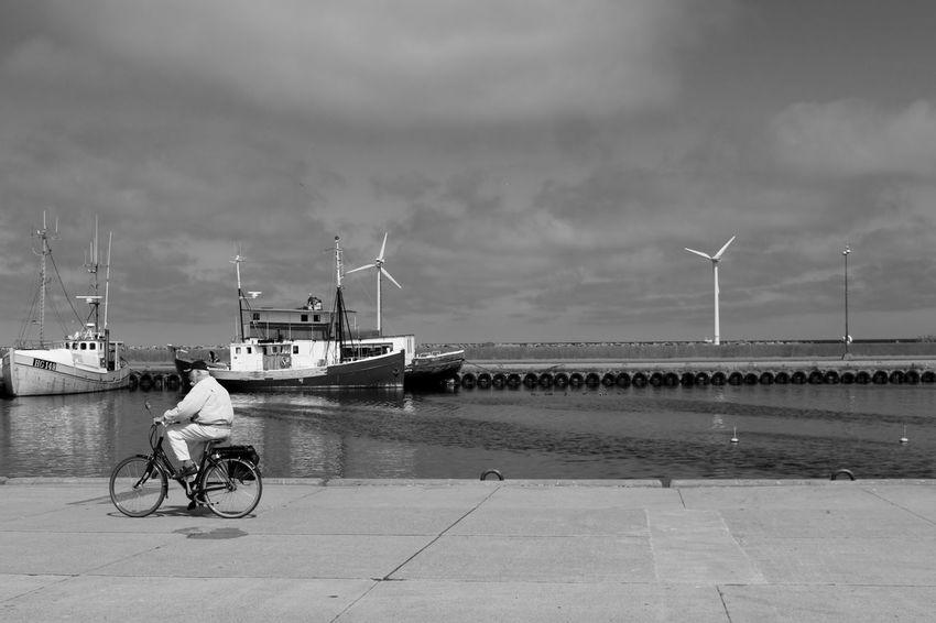 Boat Bornholm Cloud - Sky Day Hafen Harbor Kutter Nexø Outdoors Parking Ship