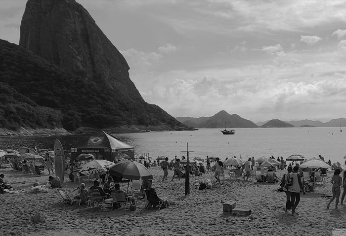 Sugar Loaf Mountain Water Beach Nature Famous City Famous Tourist Attractions Rio De Janeiro