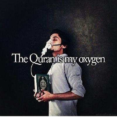 The Quran is my Oxygen Islamcouple Islamlove SubhanAllah Jannah beautifulnight