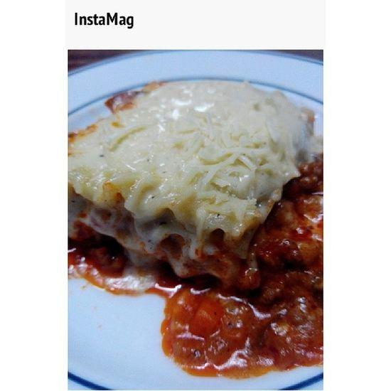 My take on Lasagna Feelingchef Foodtrip