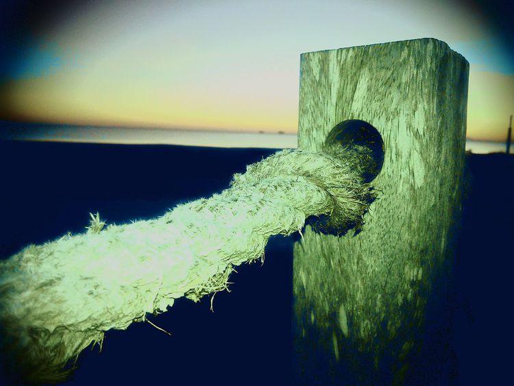 Moorage Sea Ocean Dawn Amanecer Mar Amarre