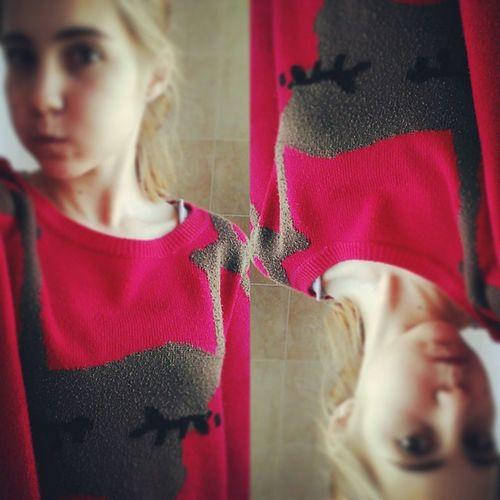 Instabox свитерок школаа безумно скучно