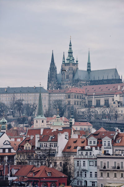 Past and Prsesnt City Old Town Past Architecture Building Building Exterior Built Structure Castel City Cityscape Gothic Style Old Cities Old Continent Place Of Worship Residential District Roof TOWNSCAPE Travel Destinations The Traveler - 2018 EyeEm Awards